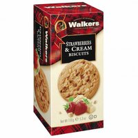 Walkers Strawberries and Cream Biscuits (150 g)
