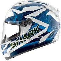 Shark Race-R Pro Kundo Weiß Blau Schwarz