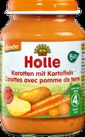 Holle Karotten mit Kartoffeln