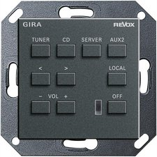 Gira Revox multiroom system Bedieneinheit M218 (053828)