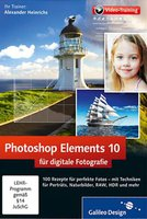 Galileo Press Photoshop Elements 10 für digitale Fotografie 11 - Videotraining (PC+MAC+Linux)