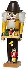 KWO Olbernhau Nussknacker Spielzeughändler (28 cm)