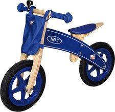 Bino Laufrad mit Lenkertasche blau