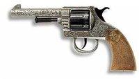 Edison Giocattoli Revolver Oregon Antik 12-Ringschuss 8026017