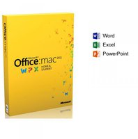 Microsoft Office 2011 Home And Student Product Key Card (Mac) (EN)
