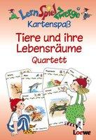 Loewe Verlag LernSpielZwerge Kartenspaß: Tiere und ihre Lebensräume