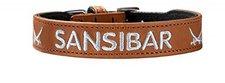 Hunter Halsband Sansibar gestickt (42 cm)
