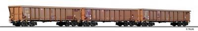 Tillig Rolldachwagen-Set Tamns 893 DB (74185)