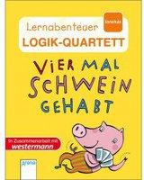 LÜK Lernabenteuer Logik-Quartett - Vier Mal Schwein gehabt!