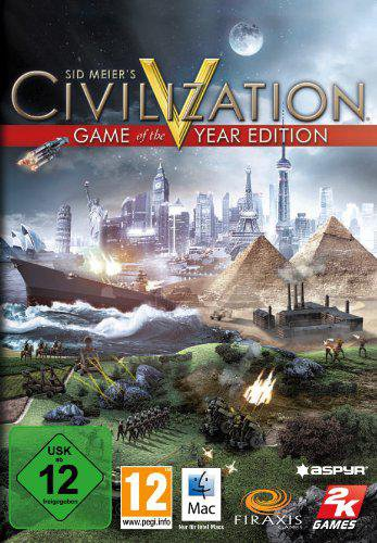 Civilization V: Game of the Year Edition (Mac)