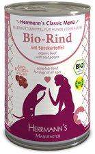 Herrmanns Hundefutter Bio Menü mit Rind, Kartof...