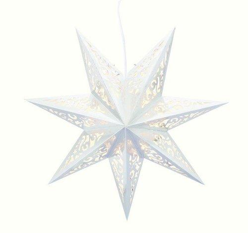 Markslöjd Lighting Weihnachtsstern Vallby Stern weiß (700554)
