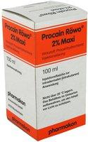 pharmakon Procain Roewo 2% Maxi Inj. -Fl. (PZN: 04494022)