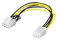 Kabel PCI-Express Stromadapter 6pin