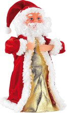 Infactory Singender & tanzender Weihnachtsmann Swinging Santa