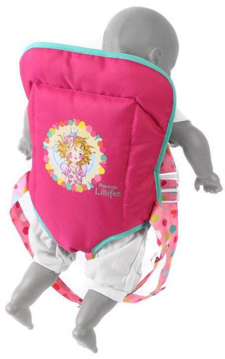 Kleidung & Accessoires Bayer Chic Puppen-Tragegurt Pinky Bubbles Puppen & Zubehör