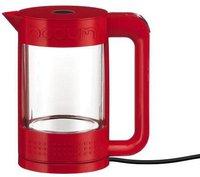 Bodum Bistro Wasserkocher Doppelwandig 1,1 Ltr. Rot