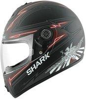 Shark S600 Griffon schwarz/anthrazit/rot/matt