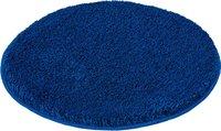 Kleine Wolke Relax Badteppich atlantikblau (100 cm) rund