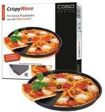 Caso CrispyWave Mikrowellen Pizzablech 26 cm silber