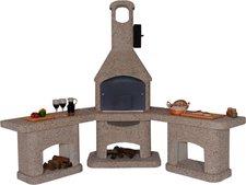 Well Fire Außenküche mit Grillkamin NOVA quatro