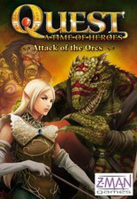 Z-Man Games Quest - Attack of the Orcs