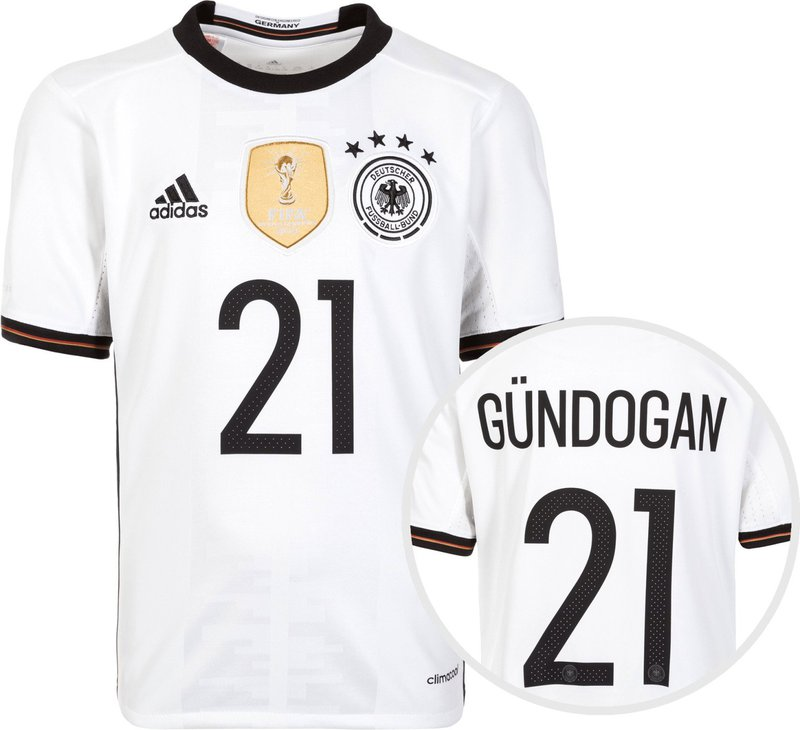 ilkay g ndogan deutschland dfb kinder trikot em 2016. Black Bedroom Furniture Sets. Home Design Ideas