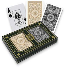 KEM Arrow Poker Regular Black and Gold