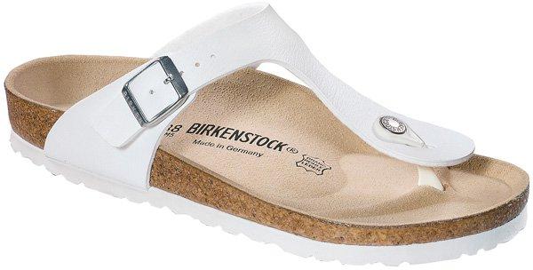 197aaaa9a0b86d Birkenstock Gizeh Birko-Flor white im Preisvergleich bei Preis.de