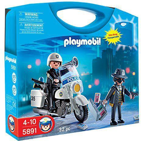 Playmobil Polizei & Räuber im Tragekoffer (5891)