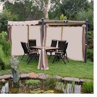 Benedomi Gartenpavillon Avantos Seitenteile 3 x 4 m