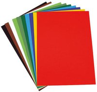 Folia Tonkarton 10 Bogen 50 x 70 cm 10 Farben
