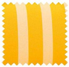 Kettler Liegenauflage für Tiffany 200 x 65 x 9 cm (Dessin 586: gelb/weiß)