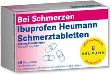Heumann Ibuprofen Schmerztabletten 400 mg (50 Stück)