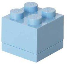LEGO Brotdose 1 x 4 blau