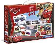 Clementoni Edu Kit 4 in 1 Cars 2