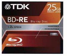 TDK BD-RE Blu-ray Disc 25GB 2x