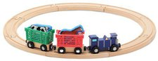 Melissa & Doug Farm Animal Train Set (644)