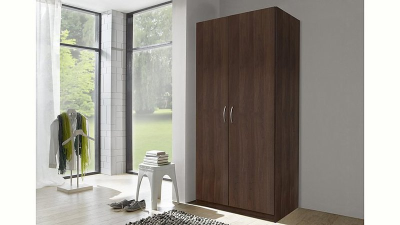 2 t riger kleiderschrank preisvergleich ab 38 95. Black Bedroom Furniture Sets. Home Design Ideas