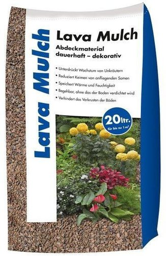 hamann lava mulch 8 16 mm 25 kg preisvergleich ab 8 99. Black Bedroom Furniture Sets. Home Design Ideas