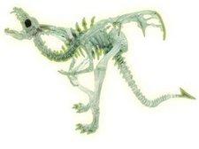 Plastoy Drachenskelett im Dunkeln leuchtend (60226)