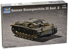 Trumpeter German Sturmgeschütz III Ausführung E (7258)