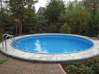 my pool Premium Rundbecken + Sandfilteranlage 450x150 cm