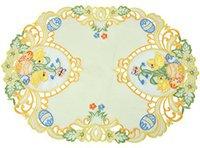 Tischdecke oval