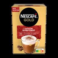 Nescafe Cappuccino Entkoffeiniert Portionsbeutel (10 Stk.)
