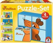 Schmidt Spiele Puzzle Set Die Maus (2x26, 2x48 Teile)