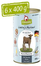GranataPet Lieblingsmahlzeit Kalb & Wildkaninch...