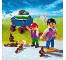 Playmobil 4467 Besucher mit Bollerwagen