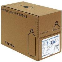B. Braun Ringer Lactat N Ecofl.plus Inf.l. (10 x 500 ml)