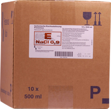 Fresenius Kochsalzlösung 0,9% Plastikfl. (10 x 500 ml)